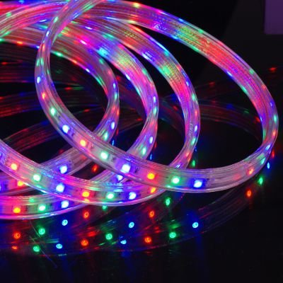 Fita de LED Silicone RGB 72W 220V Bella Iluminação LP059