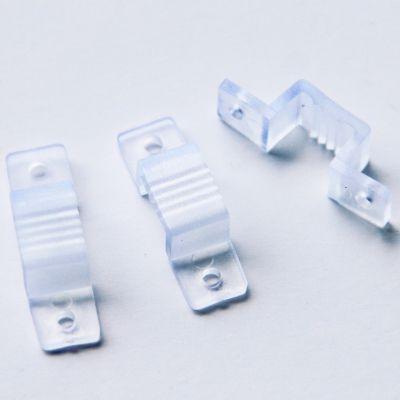 Bracadeira para Fita LED Plastico Transparente Bella Iluminação LP087
