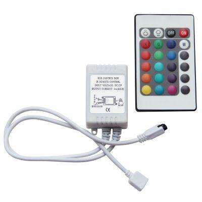 Controle Remoto Infra Vermelho RGB 12V Bella Iluminação LP100