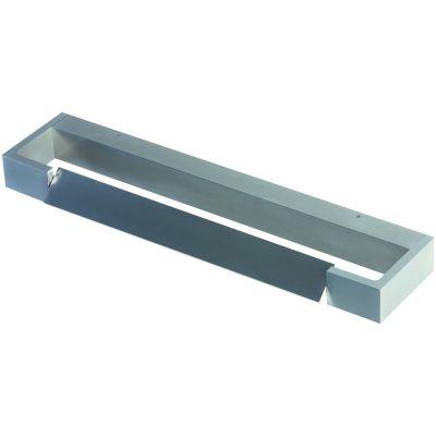 Arandela Move Horizontal LED Alumínio Cinza 10x45cm Bella Iluminação 1 LED 6W Bivolt LZ015A Quartos e Entradas