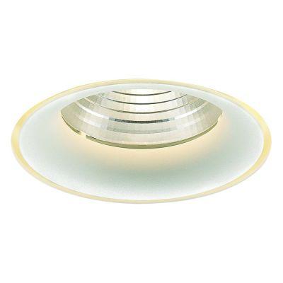 Spot Embutido Halo No Frame Alumínio Branco 5,5x6,2cm Bella Iluminação 1 LED 7W Bivolt NS1026 Corredores e Salas