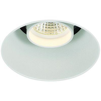 Spot Embutido Eva No Frame Redondo Alumínio 12x8,5cm Bella Iluminação 1 LED 9W Bivolt NS1036 Corredores e Quartos
