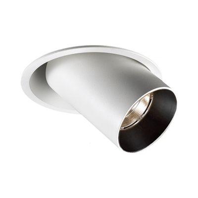 Spot Embutido Spy Round Direcionável Alumínio 13,6x11cm Bella Iluminação 1 LED 9W Bivolt NS1044 Cozinhas e Salas