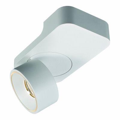 Spot Sobrepor Halo Direcionável Alumínio 20x9,5cm Bella Iluminação 1 LED 9W Bivolt NS1054 Escritórios e Quartos