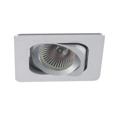 Spot Embutido Monet Quad Alumínio Branco 5,7x9,3cm Bella Iluminação 1 GU10 Dicróica Bivolt NS6001B Entradas e Salas