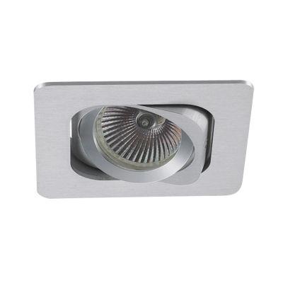 Spot Embutido Monet Quad Alumínio Branco 5x8cm Bella Iluminação 1 GU10 Minidicróica Bivolt NS6101B Salas e Hall