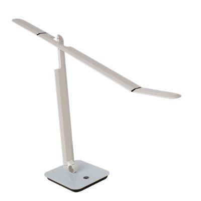 Abajur Mesa LED Direcionável Alumínio Branco 55x83,2cm Bella Iluminação 1x LED 3W Bivolt VD008W Mesas e Balcões