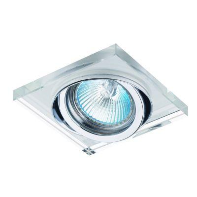 Spot Quad Shine Embutido Direcionável Aço Fosco 3x9cm Bella Iluminação 1 GU10 Dicróica YD134 Quartos e Salas