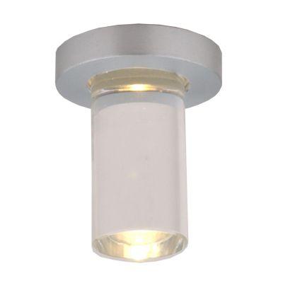 Spot Fine Red LED Embutido Cristal Alumínio 6,6x4cm Bella Iluminação 1 LED 1W Bivolt YD262R Salas e Cozinhas