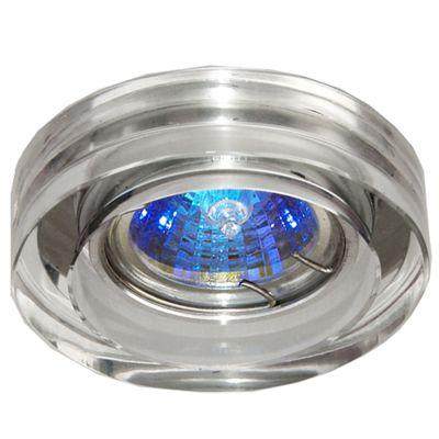Spot Red Cristal Transparente Aço Cromado 4,5x10cm Bella Iluminação 1 GU10 Dicróica Bivolt YD631B Cozinhas e Salas