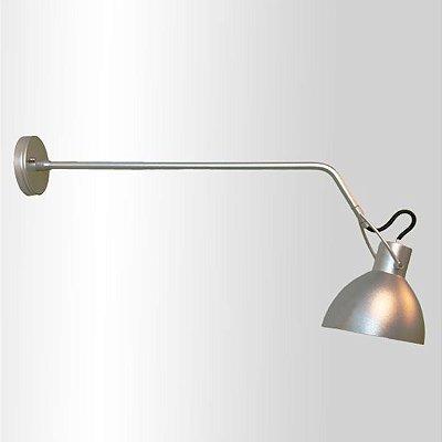 Arandela Seed Haste Direcionável Metal Cromado 9,5x50cm Golden Art 1x Lâmpada E27 Bivolt P893-B-50 Mesas e Balcões
