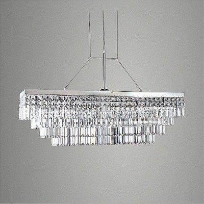 pendente tripoli saias cristal lapidado metal golden art t950 60 play light ilumina o. Black Bedroom Furniture Sets. Home Design Ideas