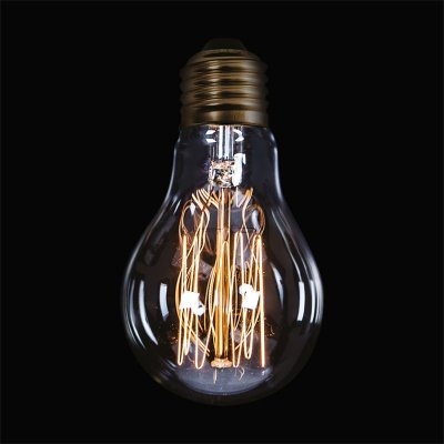 Lâmpada Inriflessa E27 40 Watts Decorativa Filamento Carbono Luciin DL004/1