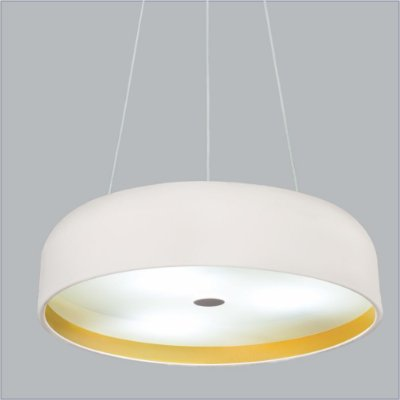 Pendente Oberon Vertical Redondo Alumínio Branco 10x40cm Usina Design 4x E27 Bivolt 16211-40 Salas e Entradas