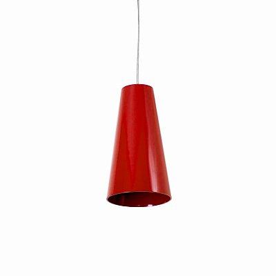 Pendente Cônico Cilindrico Vertical Madeira Imbuia 30x16cm Accord Iluminação 1x E27 25W Bivolt 1233 Salas e Mesas
