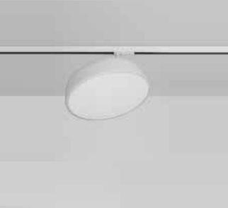 Plafon Victoria Redondo Sobrepor Alumínio Acrílico 9,5x29cm Newline 1x E27 25W Bivolt 160ABBT Salas e Cozinhas