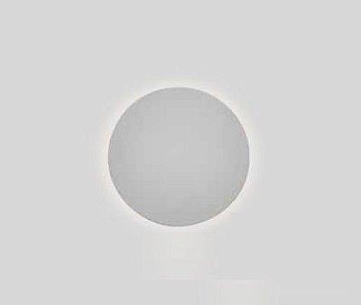 Arandela Pleine Lune LED Redonda Sobrepor Acrílico 9x26,2cm Newline 1x PCI LED 6W 340LEDBT Salas e Corredores