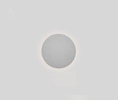 Arandela Pleine Lune Redonda Sobrepor Acrílico 6x15cm Newline 1x PCI LED 6W IN4002BT Entradas e Corredores