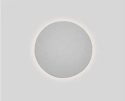 Arandela Pleine Lune Redonda Sobrepor Acrílico 9x60cm Newline 3x E27 25W Bivolt IN40024BT Salas e Corredores