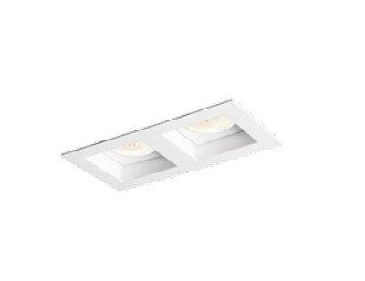 Spot Flat Duplo Embutido Retangular Alumínio Branco 21x13cm Newline 2x E27 PAR20 50W IN65023BT Salas e Cozinhas
