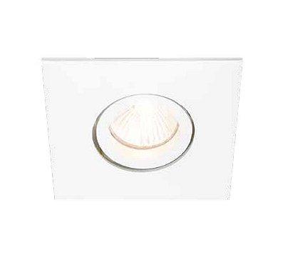 Spot Lisse II Pin Hole Embutido Direcionável 7x16cm Newline 1x GU10/GZ10 AR111 LED IN55551BT Salas e Corredores