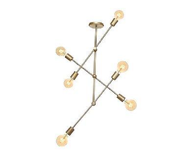 Pendente Old Artisan PD5282 Moderno Vertical Filamento Dourado Cores (E27) C-600XL-150XA-700 até 1000