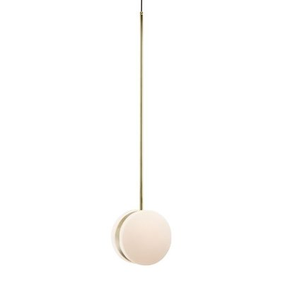 PENDENTE Klaxon Time Pendurado Esfera Bola Vidro Moderno28 cm x 127 cm x 17 cm