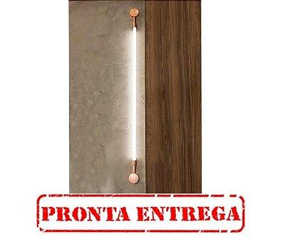Arandela  LUMINÁRIA Klaxon LUXEMBOURG P Tubular Led Moderna  8 cm x 94 cm x  4 cm PRONTA ENTREGA