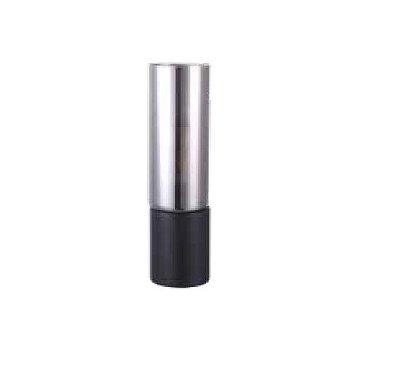 Abajur QUALITY NLI QAB1325FM VIDRO METAL Tubular Moderdo PRETO FUME Ø9 x A30 cm 1X E27