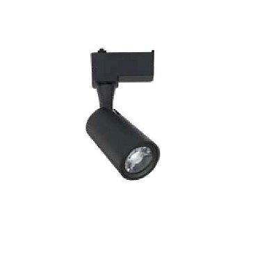 SPOT QUALITY NLI QSP1372PT Trilho LED 12W 3000K PRETO 17.5 x 7.5 x Ø5.5 cm
