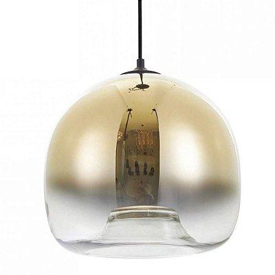 PENDENTE Bella JO001G SPECULO Vertical Cupula Vidro Gradiente 30cmx27,5cm  1xE27 BIVOLT