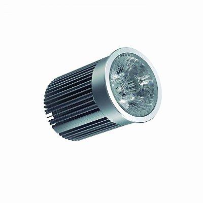 LAMPADA Bella LP004NB LED DICROICA 12W 220V C FONTE DIMERIZAVEL