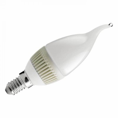 LAMPADA Bella LP017 LED VELA CHAMA FOSCA E14 5W BIVOLT