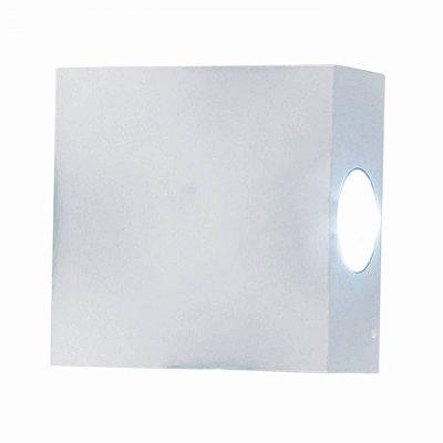 ARANDELA Bella LX1015W CASE LED Branco Quadrada 11x11cm 4W