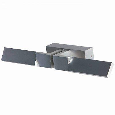 ARANDELA Bella LZ013A MOVE Aluminio Escovado Moderna Articulada LED 3W
