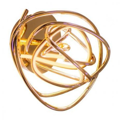 ARANDELA Bella WD018 NINHO Aros Moderno Em Led 23cm ROSE GOLD 1 x LED 12W