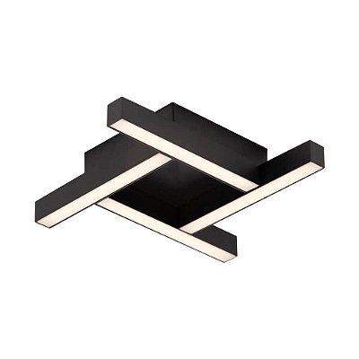 PLAFON Newline 680LED4 FIT LED Perfil Moderno 16,8W 4000K Luz Fria 127/220V 315X315X58MM