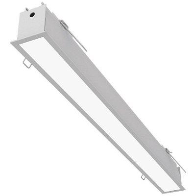 Plafon EMBUTIDO Newline FIT 40 LED Perfil Moderno EM0402LED4 32W 4000K Luz Fria 127/220V 1155X52X70MM