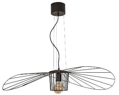 PENDENTE AGUILA  17193/1 Usina Design Aramado Moderno Suspenso Filamento Ø95cm x 16cm  1m