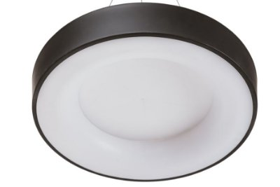 Plafon DÂNDI Redondo Usina Design LED Quente Difusor EM ACRÍLICO Ilum. Direta Indireta x Ø44 X 9cm x LED20,5W 3000K/BIVOLT 19000/44 LED3