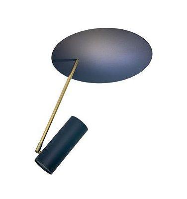 Plafon Disco Erlon Tessari Moderno 45 X 43CM 1 HASTES 39CM 1 x E27 1x PAR20 LED