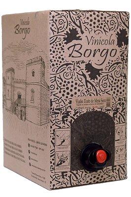 Vinho Tinto Bordô Seco Bag 5L
