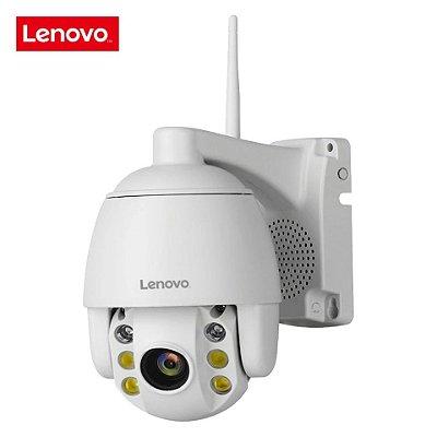 Câmera de segurança externa Lenovo zoom 5x