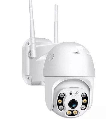 Câmera de segurança 2 unidades externa ptz