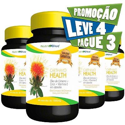 Óleo de Cartamo Nutriblue - Promoção 4 frascos