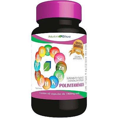 Polivitamínico Nutriblue - Vitaminas e Minerais de A-Z
