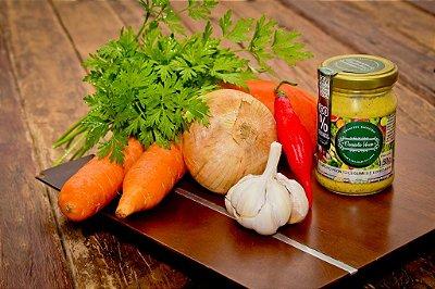 Tempero Pronto Legumes e Especiarias Orgânico 150g