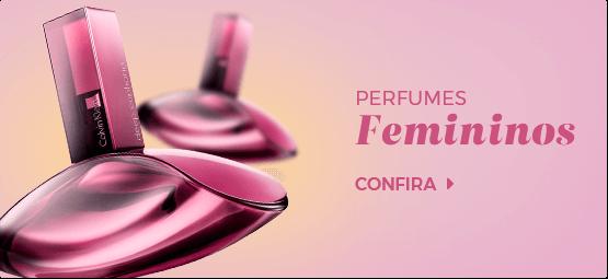Perfumes femininos mini banner