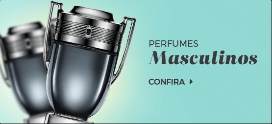Perfumes masculinos mini banner