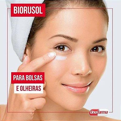 Biorusol - Redução de bolsas e olheiras